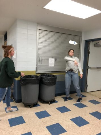 Emma Velesig thought she could throw her water bottle in the trash. She thought wrong.