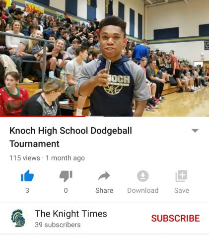 KHS Dodgeball Tournament 2019 (vlog)