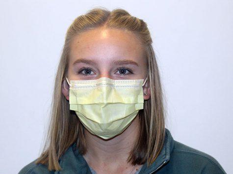 Jaydon Crawford Colorful Medical Mask