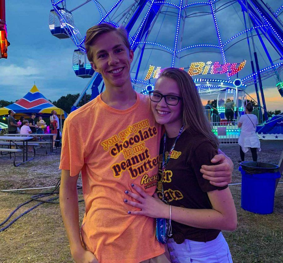 Cute Couples - Haydn Hughes and Megan Edder